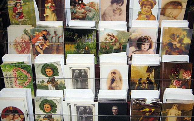 Range of greeting cards