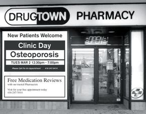 Drugtown Pharmacy Store