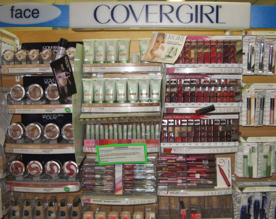 Cosmetics from Covergirl
