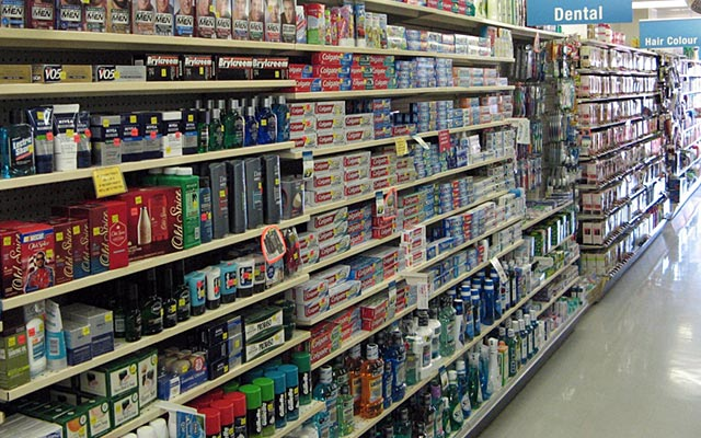 Shampoo and Conditioner Aisle